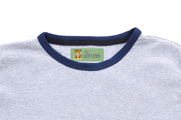 https://www.markmaster.com/en/nametags/ironfree Create your own fabric stickers from Markmaster